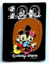 Japn Disney Store - Walt's 100th Birthday - Mickey & Minnie GWP Pin