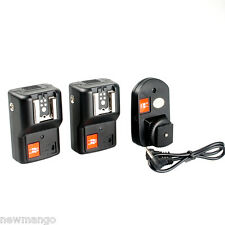 PT-04GY 4CH Remote Speedlite Flash Trigger Transmitter Receivers for Canon D0Y6