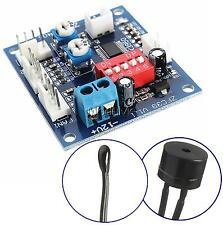 DC 12V Fan Temperature Control Speed Controller CPU High-Temp Alarm PWM PC CPU M