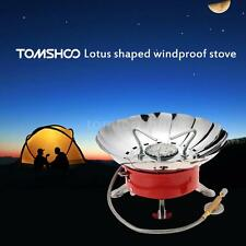 2800W Collapsible Windproof Outdoor Camping Backpacking Gas Stove Camping T1J2