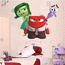 Inside Out  Fear Anger Disgust Wall Decals Kids Bedroom Baby Nursery Stickers
