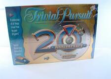 Trivial Pursuit: 20th Anniversary Edition 2002 New In Package Hasbro Game