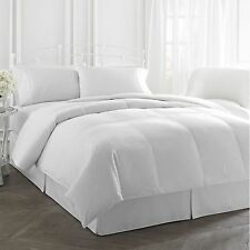 $500 New RALPH LAUREN BRONZE 300 THREAD COUNT (KING) WHITE COMFORTER