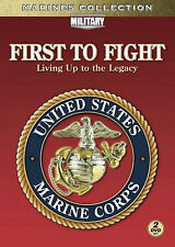 First To Fight: Living Up To The Legacy (DVD, 2009, 2-Disc Set, Marines) New