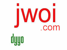 "jwoi.COM LLLL com 4 letter domain GoDaddy since 2005 brandable ""Just wait on it"""