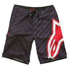 Alpinestars Motocross Stick It Black Board Short Surfing Mens Size Bottom 28