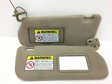 2000 2005 Hyundai Sonata Sun Visor Set Pair OEM Color Tan