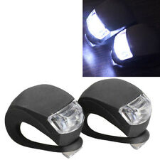 High Quality Bike Silicone Frog Light LED Front / Rear Firm Safety Warning Lamps
