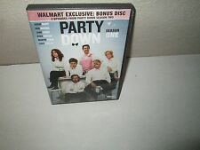 Party Down: Season One rare Comedy (3 disc) dvd Set JANE LYNCH Lizzy Caplan