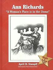 Ann Richards: A Woman's Place Is in the Dome (Stars of Texas)-ExLibrary