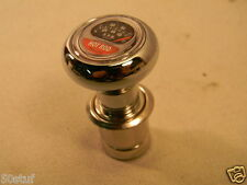 HOT ROD MAG. TACH CHROME 12 volt DASH LIGHTER ELEMENT VINTAGE DOME STYLE