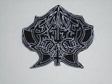 ABRUPTUM BLACK METAL IRON ON EMBROIDERED PATCH