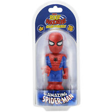 Marvel Body Knocker Spiderman Figure NEW Toys Bobble Head NECA Solar Powered