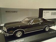 VERY RARE  minichamps 1/43 ford torino 1976 black