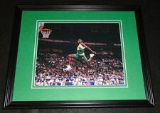 Shawn Kemp Slam Dunk Contest Framed 8x10 Photo Poster Sonics