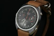 Heuer Monza Automatic Chronograph 150.511 Rare Chrome Version Untouched