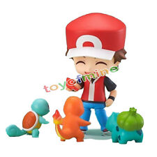 New Nendoroid 425 POKEMON CENTER LTD Nendoroid Figure RED with Starter BOX