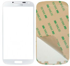 GENUINE Samsung Galaxy S4 i9500 White Frost Gorilla Glass Outer Screen Original