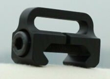 AIRSOFT SWIVEL SINGLE POINT QD RAIL SLING MOUNT BLACK