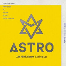 ASTRO-[SPRING UP] 1st Mini Album CD+56p Photo Book+Photocard+Postcard K-POP Seal