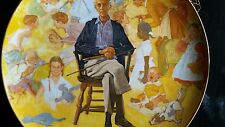 """""""Norman Rockwell Remembered"""" Museum Collector Plate Numbered Ltd. Edition 1979"""
