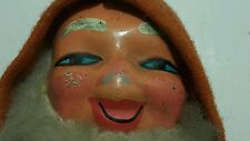VINTAGE SANTA TIN TOY WIND UP MODEL WITH BELL AND BALLOON METALOGLOBUS ROMANIA