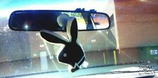 PLAYBOY CUSHION BUNNY HEAD SMALL WHITE AND BLACK WINDOW DECAL 17CM  8CM BED CAR