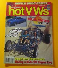 DUNE BUGGIES AND HOT VWs MAGAZINE OCT/1997: 20th ANNUAL SAND SPECIAL