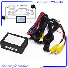 Car Front Rear Parking View Camera Switch 2 Channel Control Box Converter Sale