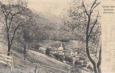 Gruss aus Schruns AK 1911 Montafon malerische Ansicht Österreich 1611047