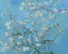 VAN GOGH Branches with Almond Reproduction painting 8X12 CANVAS PRINT