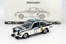 Ford Escort II rs1800 #1 winner RAC Rally 1975 losverdaderos/Liddon 1:18 Minichamps