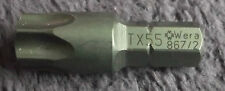 Wera Torx TX 55 By 35mm Screwdriver Bit TX55 T55 Star 867/2 Z TX 5/16 Drive