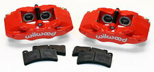 NEW WILWOOD RED DPC56 REAR BRAKE CALIPER & PAD KIT,97-13 CORVETTE,C-5,C-6,Z06