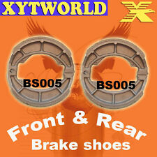 Front Rear Brake Shoes Suzuki RM125 RM 125 1975-1978