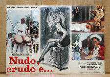NUDO CRUDO E fotobusta poster affiche Mondo Movie Sexploitation Film 1964 4