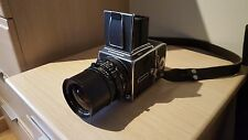 Hasselblad 503cx + Carl Zeiss 50mm f4 + A12 6x6 back + finder. Exc+++