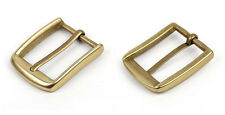 1PCS Solid Brass Pin Buckle For Belt 60x55mm #92485