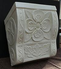 Prunkvolle Keramik Wandkonsole craquele von ABC Bassano Made in Italy !!! Nr. 1