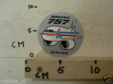 STICKER,DECAL AIR HOLLAND BOEING 757