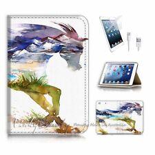 iPad Mini Gen 1 2 3 Flip Wallet Case Cover P2973 Horse