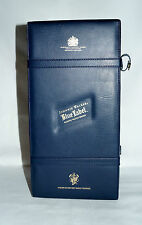 Retired Vintage Faux Leather Box Johnnie Walker Blue Label Scotch Whisky