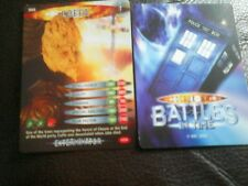 Dr who battles in time test card number 4 coffa