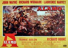 John Wayne in ALAMO  EA A 0 Plakat von 1960
