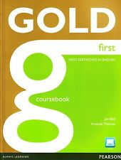 Longman GOLD FIRST FCE Coursebook with Active Book incl Audio+Online Access NEW