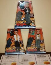 BRATZ BOYZ THE ROCK IT! COLLECTION  COMPLETE SET OF 3 WITH CERTIFICATES OF AUTH.