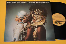 RITCHIE FAMILY LP AFRICAN QUEENS 1°ST ORIG ITALY 1977 NM TOP DISCO DANCE