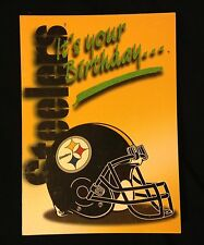 Birthday Pittsburg Steelers Football Bernie Kosar Greeting Card