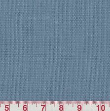 P Kaufmann Slubby Basket Weave Sailor Blue Solid Home Decor Fabric BTY