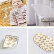 4* Eckenschutz L-Form Baby Kinder Sicherheit  Glastisch Tisch Kantenschutz